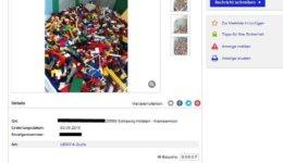 Lego Kleinanzeige
