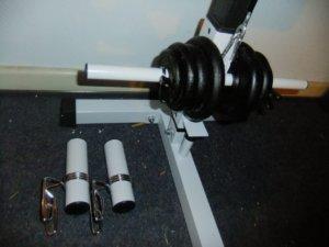 Gewicht Stange Latzugturm