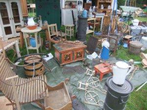 Fotos und Erfahrungsbericht zum Antikmarkt in Wetzlar Finsterloh