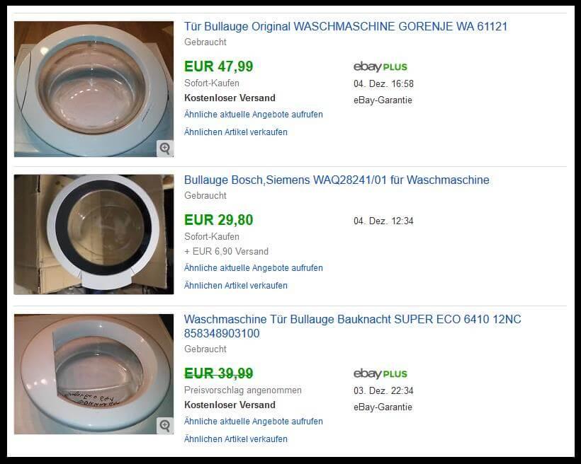 Tipps Für Ebay Waschmaschine Gebraucht Bilder Von Waschmaschinen Dekoration