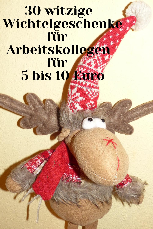 Witzige Wichtelgeschenke für Arbeitskollegen für 5 bis 10 Euro