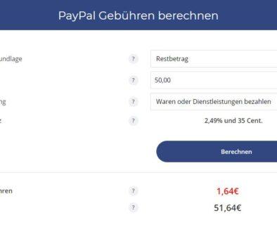 Als Käufer die PayPal-Gebühren übernehmen? So wird's gemacht!